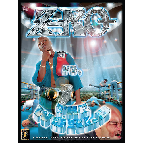 "Z-RO, Vs. The World, 18"" x 24"" Poster"