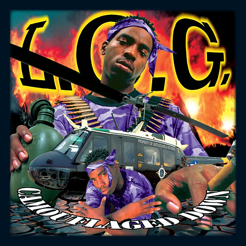 L.O.G., Camouflaged Down, Album Cover