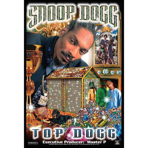 "Snoop Dogg,  Top Dogg, 24"" x 36"" Poster"