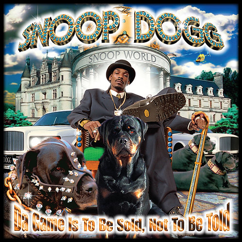 Snoop Dogg, Da Game Is To Be Sold, Not To Be Told, Album Cover