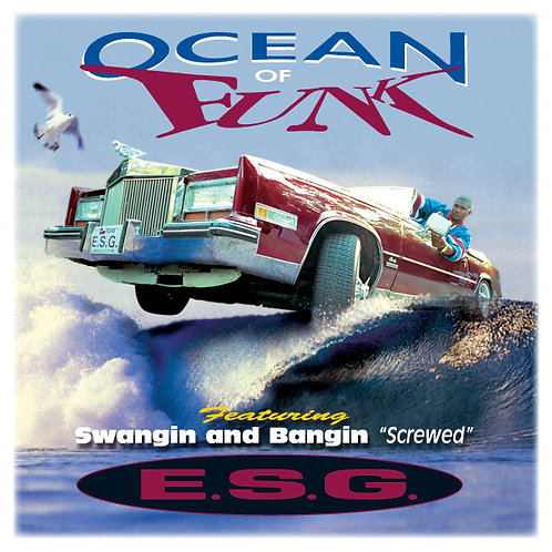 E.S.G., Ocean of Funk, Album Cover