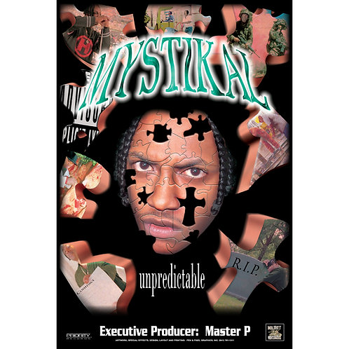 "Mystikal, Unpredictable, 24"" x 36"" Poster"