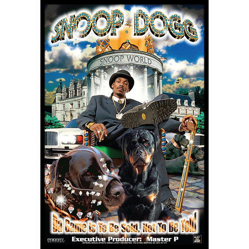 "Snoop Dogg,  Da Game Is To Be Sold, Not Told, 24"" x 36"" Poster"