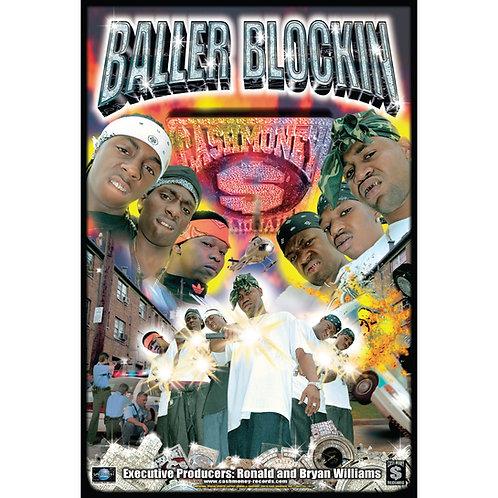"Cash Money, Baller Blockin, 24"" x 36"" Poster"