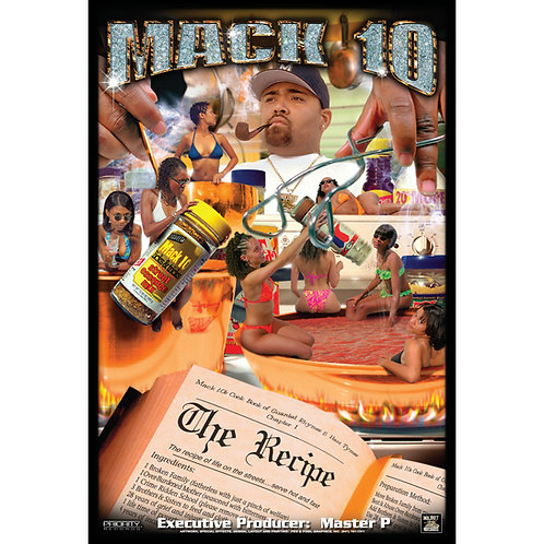 "MACK-10., The Recipe, 24"" x 36"" Poster"