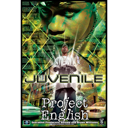 "Juvenile, Project English, 24"" x 36"" Poster"