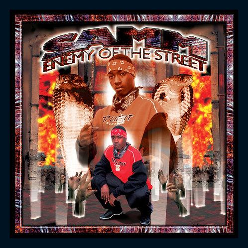 SAMM, Enemy of the Street, Album Cover