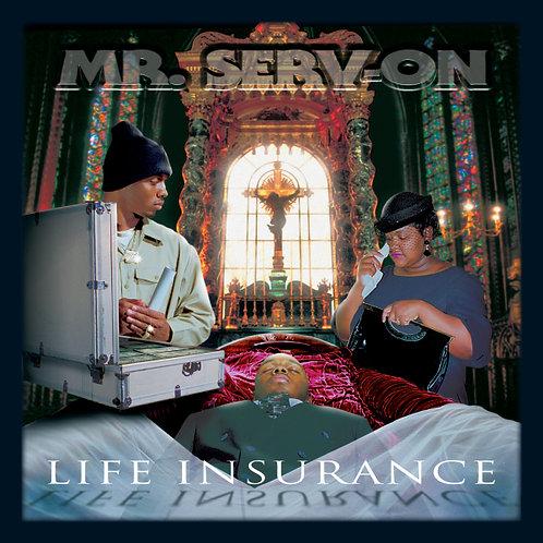 Mr. Serv-On, Life Insurance, Album Cover
