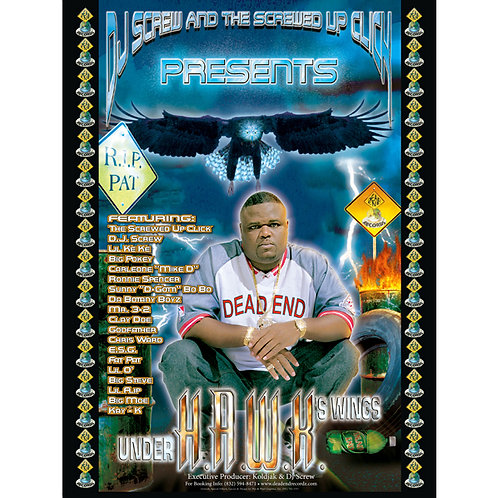 "H.A.W.K., DJ Screw and the Screwed Up Click, 18"" x 24"" Poster"