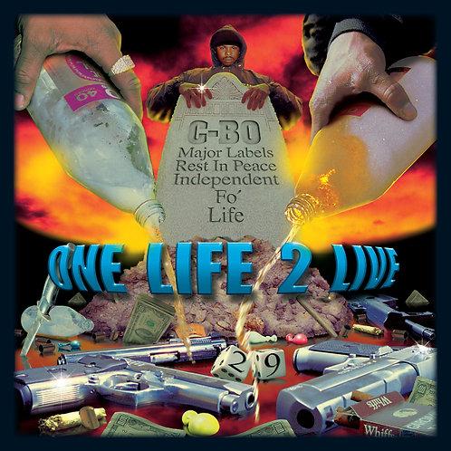 C-BO, One Life 2 Live, Album Cover