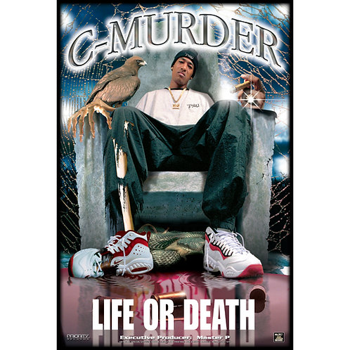 "C-Murder, Life or Death, 24"" x 36"" Poster"