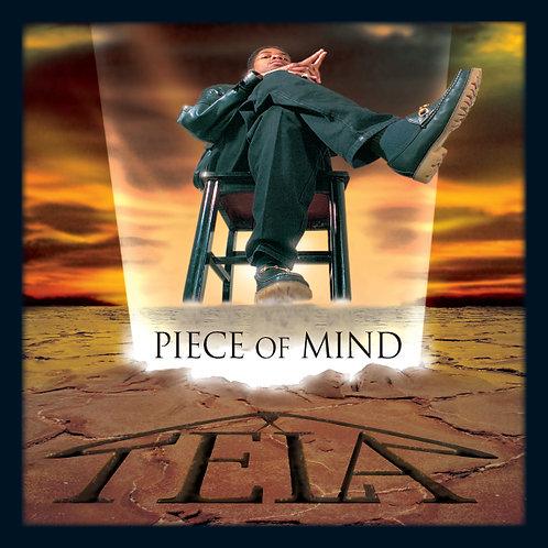 TELA, Piece of Mind, Album Cover