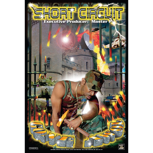"Short Circuit, Gone AWOL, 24"" x 36"" Poster"