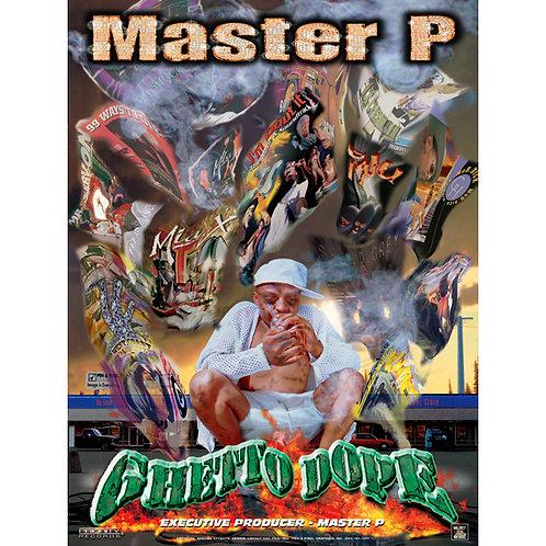 "Master P, Ghetto Dope, 18"" x 24"" Poster"
