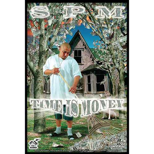 "SPM,  Time Is Money, 24"" x 36"" Poster"