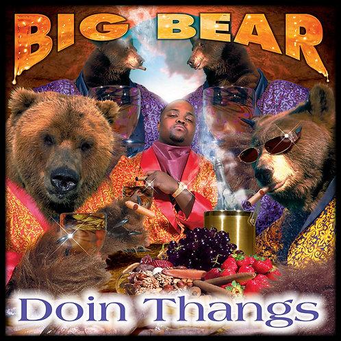 Big Bear, Doin Thangs, Album Cover