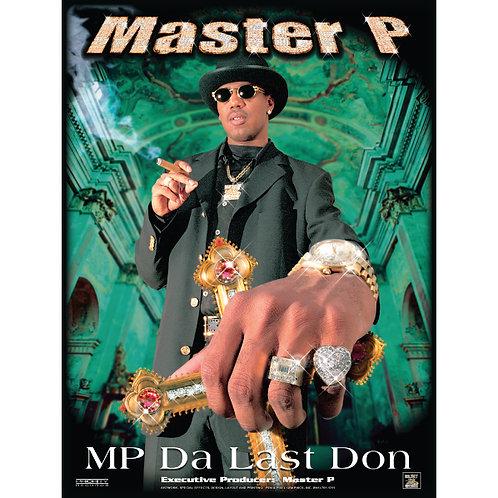"""Master P, MP Da Last Don, 18"""" x 24"""" Poster"""