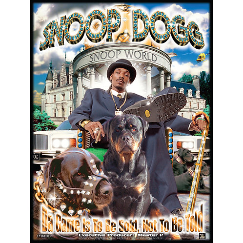 """Snoop Dogg, Da Game Is To Be Sold, Not Told, 18"""" x 24"""" Poster"""