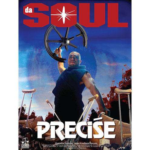 "Precise, Da Soul, 18"" x 24"" Poster"