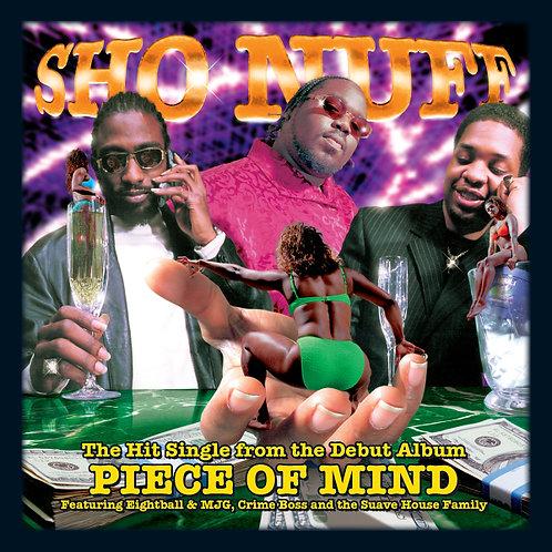 Sho Nuff, Piece of Mind, Album Cover
