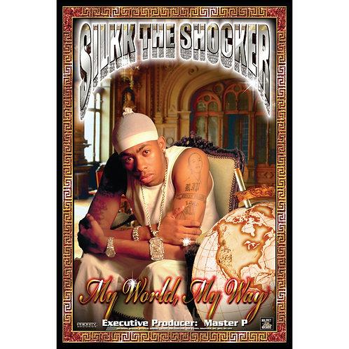 "Silkk the Shocker, My World, My Way, 24"" x 36"" Poster"
