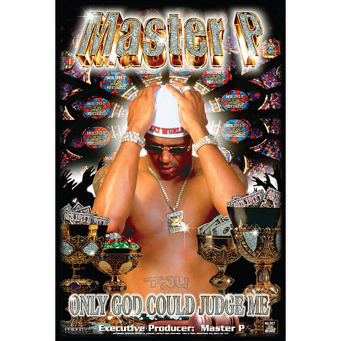 """Master P, Only God Could Judge Me,  24"""" x 36"""" Poster"""