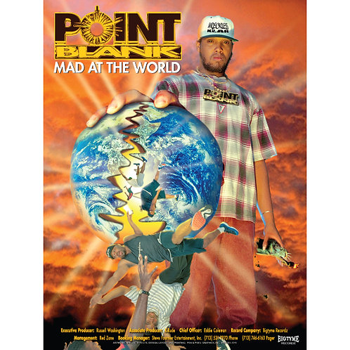 "Point Blank, Mad at the World, 18"" x 24"" Poster"