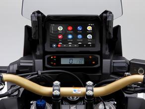Android Auto jetzt auch für die Africa Twin CRF1100 Honda
