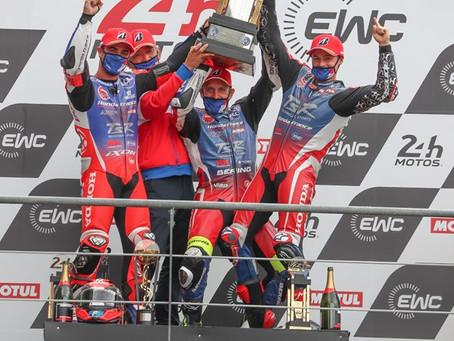 Meisterhafter Sieg bei den 24 Stunden von Le Mans für das Team F.C.C.TSR Honda France !