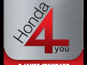 Neu 4 Jahre Garantie für deine Honda