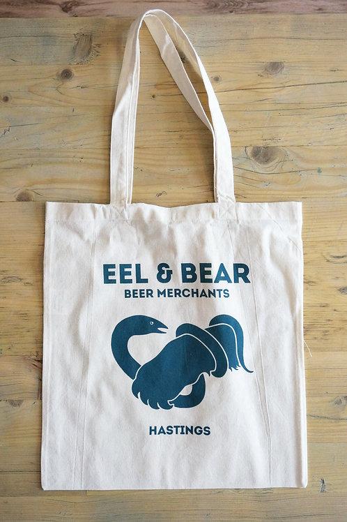 EEL & BEAR TOTE BAG