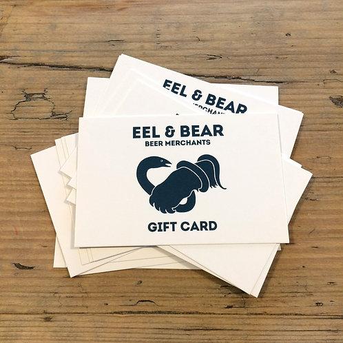 £30 EEL & BEAR GIFT CARD