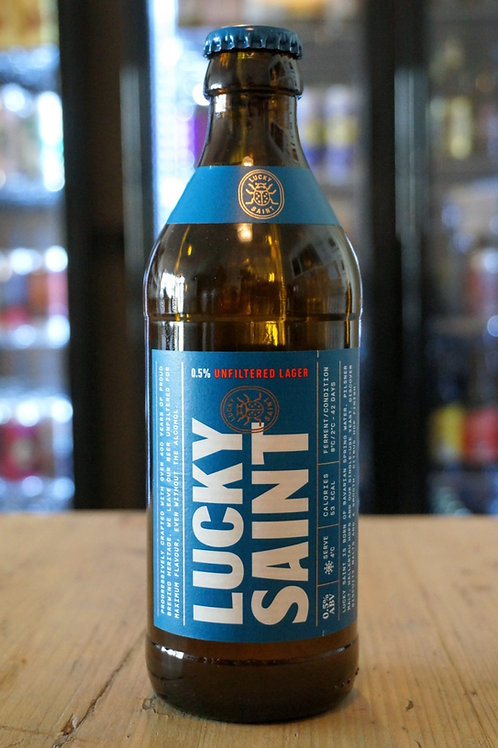 LUCKY SAINT - UNFILTERED LAGER