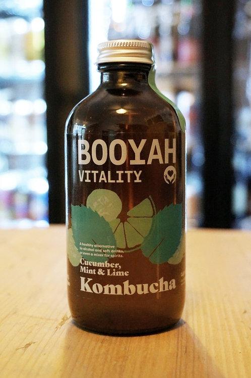 BOOYAH VITALITY - KOMBUCHA CUCUMBER, MINT & LIME