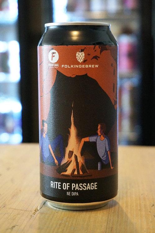 FRONTAAL / FOLKINGEBREW - RITE OF PASSAGE