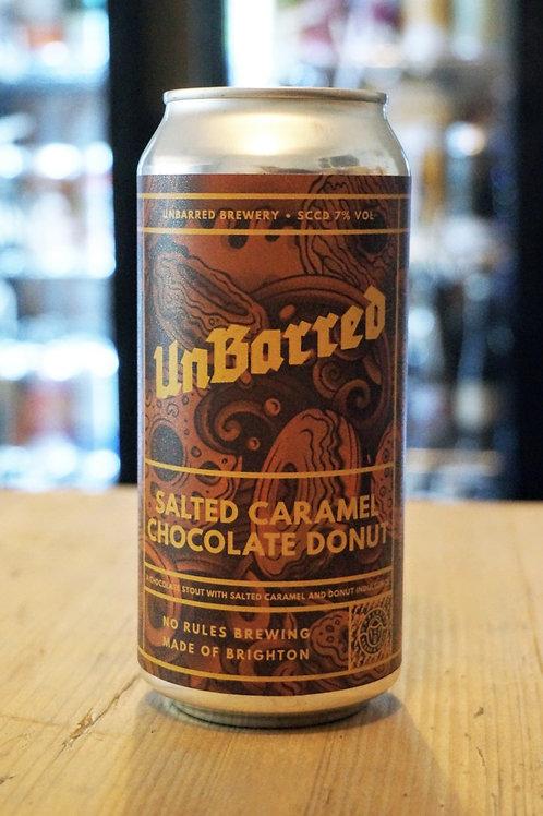 UNBARRED - SALTED CARAMEL CHOCOLATE DONUT