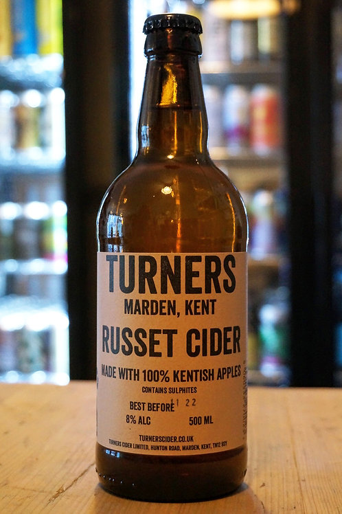 TURNERS - RUSSET