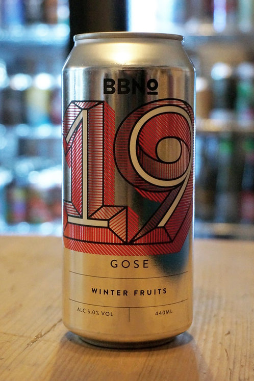BREW BY NUMBERS - 19 GOSE WINTER FRUITS