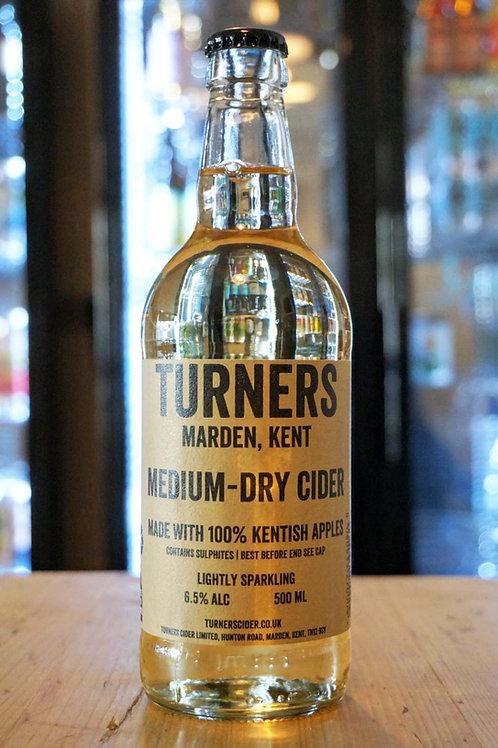 TURNERS - MEDIUM-DRY CIDER