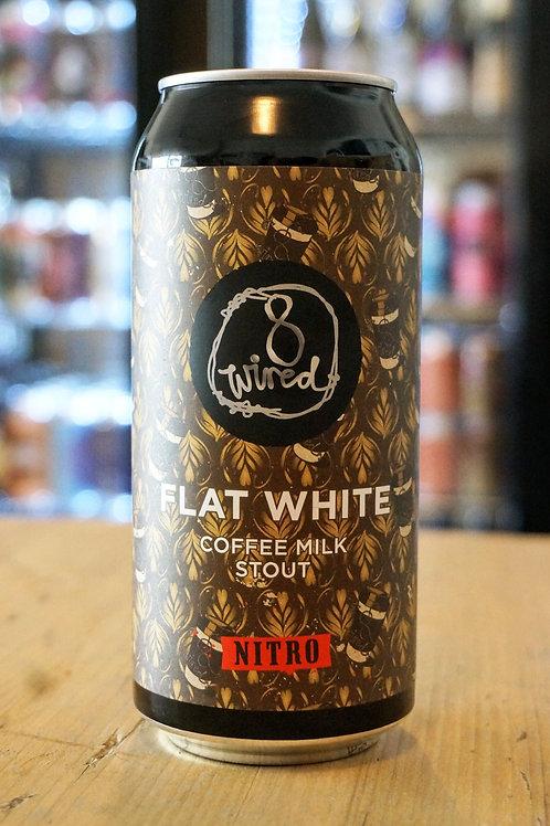 8 WIRED - FLAT WHITE NITRO