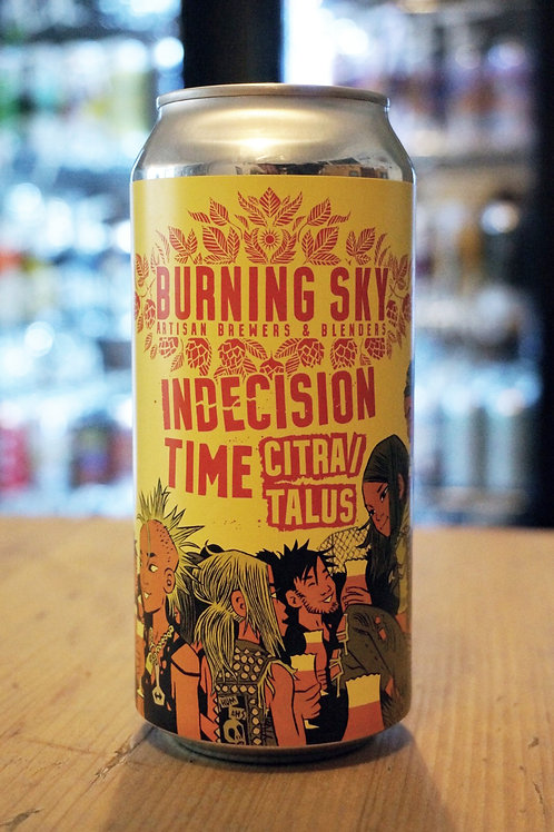 BURNING SKY - INDECISION TIME CITRA/TALUS