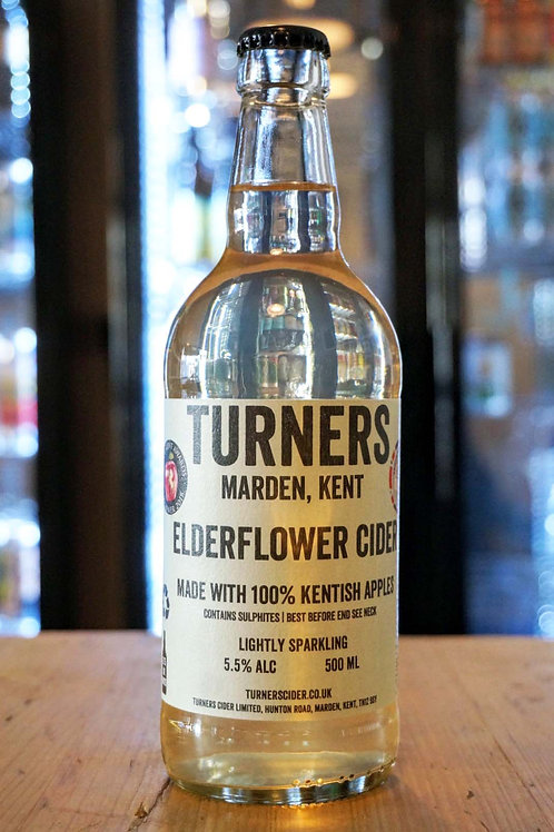 TURNERS - ELDERFLOWER CIDER