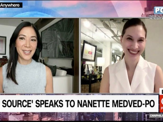 "CNN: ""The Source speaks to Nanette Medved-Po"""