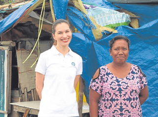 """Philippine Daily Inquirer: """"Real-life 'Darna' wages war vs plastic waste"""""""