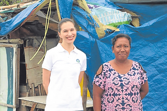 "Philippine Daily Inquirer: ""Real-life 'Darna' wages war vs plastic waste"""