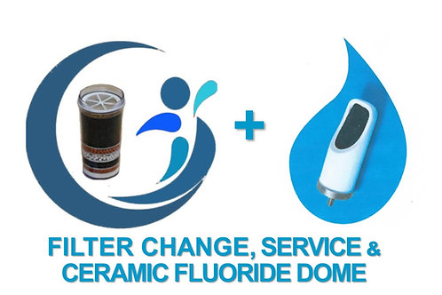 Filter & Service + Fluoride ceramic dome