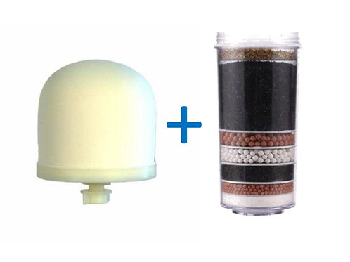 Ceramic Dome + Carbon Filter