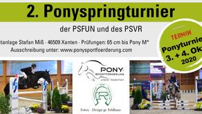 2. Ponyspringturnier der PSFUN und des PSVR