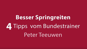 EQUITARIS:  4 Tipps vom Bundestrainer Peter Teeuwen