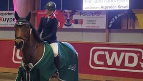 Lisa Marie Janßen gewinnt die                   3. Qualifikation beim RV von Driesen Asperden-Kessel